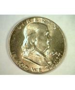 1954 FRANKLIN HALF DOLLAR GEM UNCIRCULATED SUPER ATTRACTIVE TONING / COLOR - $85.00