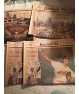 1994 Cleveland Indians 3 Newspaper Inserts Set Plain Dealer New Stadium ... - $19.38