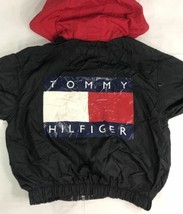 Vintage Tommy Hilfiger Jacket Windbreaker 90s Flag Colorblock Sailing Youth - $49.99