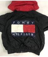 Vintage Tommy Hilfiger Jacket Windbreaker 90s Flag Colorblock Sailing Youth - $49.99