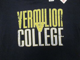 Vermilion College With tags attached  T Shirt Size L - $10.99