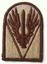 Joint Readiness Command Patch Ssi U.S. Army - Desert Tan COLOR:FA12-1 - $3.00