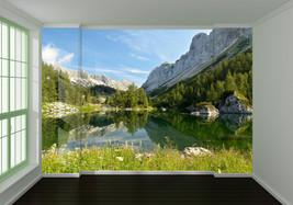 3D Die Berge rund um den SEE  Fototapeten Wandbild Fototapete BildTapete Familie - $52.21+