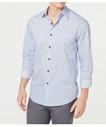 NEW MENS CLUB ROOM PERFORMANCE REGULAR FIT FOULARD DRESS SHIRT 17 32-33 - $14.84