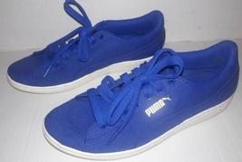 Puma VIKKY CV Women's Size 8.5 Casual Walking Shoes Sneakers Blue  - $17.77