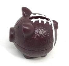 Vintage Little Ceramic Football Pig Piggy Coin Bank - $29.99