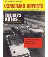 ORIGINAL Vintage 1973 Consumer Reports Magazine Autos Cars Issue - $14.84