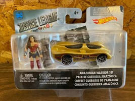Mattel Hot Wheels DC Justice League Amazonian Warrior Set Wonder Woman MIP - $7.91