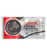 MAXELL CR2032 BATTERY--CARD OF 5 - $7.00