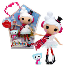 "NEW HOT Lalaloopsy 12"" Tall Button Rag Doll  Winter Snowflake+Siberian H... - $82.99"