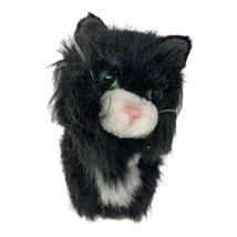 American Girl Licorice the Black Tuxedo Kitten Cat Pet Animal Hard Body ... - $9.99