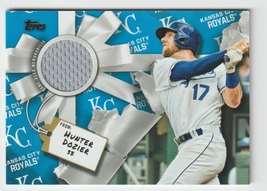 Hunter Dozier 2019 Topps Walmart Holiday Jersey Relic #WHRHD KC Royals - $3.99