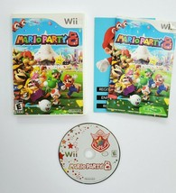 Mario Party 8 Nintendo Wii 2007 Complete in Box CIB Tested  - $39.99