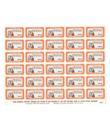 VFW National Home for Children Charity Seal Stamps 1982 Eaton Rapids MI ... - €4,46 EUR