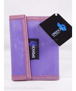 Sasson Womens Bifold Wallet Hook & Loop Closure Purple Vintage New with ... - $12.86
