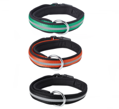 """Reflective Padded Collar up to 11 lbs 5kg Dogs Circumference 6¼ """" to 11"""" 16-28cm - $16.99"""