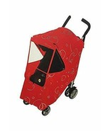 Hippo Collection Universal Stroller Weather Shield - Red Design - $28.21