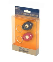 Mighty Bright Blue and Pink LED Keychains - $8.15