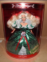 Barbie Happy Holidays 14123 Special Edition 1995 Green Satin Mattel NIB ... - $18.99