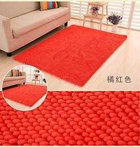100x160cm Huge Size Soft Thick Shag Microfiber Chenille Anti Slip Floor ... - $69.99