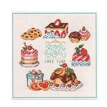 [Desserts] DIY Cross-Stitch 11 CT Embroidery Kits Kitchen Decorations(11... - $22.14