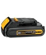 20V 1.5 Ah Li-Ion Compact Battery pk - $159.90