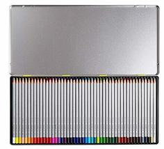 Monami Bauhaus Colored Pencil 48 Colors Set with Tin Case
