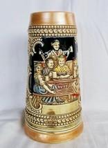Vintage CS-5 German Pilique Budweiser Stein Ceramarte Rams Head - $147.51