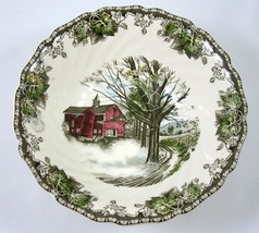 Johnson Brothers Friendly Village Vegetable Serving Bowl Autumn Mists England - $24.99