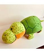 "Flip A Zoo Flipazoo Hedgehog turtle 19"" Plush Stuffed Animal Toy - $14.95"