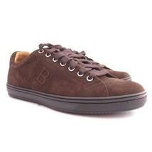 CIOCCOLATO 161967 numero 6 sneaker 5 scarpe US Camoscio NUOVO BALLY p HtUqndawa
