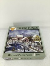 Bits And Pieces Studio Puzzle Blackbird Pond By Janet Munro 500 Pieces 1... - $9.49