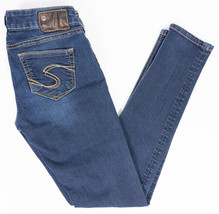 Silver Suki Jegging Womens Stretch Jeans Dark Wash Size 26/31  - $27.41