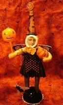 Vintage inspired Spun Cotton Dark Butterfly Girl image 1