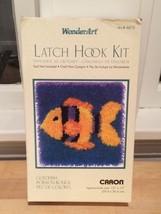 New In Box Caron Latch Hook Kit Goldfish Fish Animal Crafting Crafts - $23.75