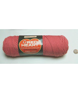 NOS (1) Red Heart 732 Candy (pink) Acrylic Fiber 3.5oz 4 Ply Knit & Croc... - $12.85