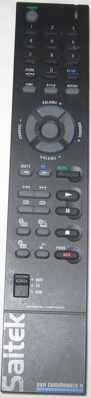 Primary image for Saitek Universal DVD Commander II PS2 Playstation 2 Remote Control FREE SHIP USA