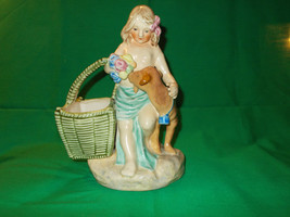 Circa 1930's Porcelain Statue/Vase, from Maruhon Ware, of Japan.  - $29.99