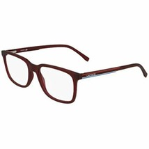 New LACOSTE L2859 615 Matte Dark Red Eyeglasses 54mm with Lacoste Case - $89.05