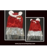 Pet Holiday Christmas Dress Female Large - $11.99