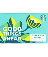Starbucks 2021 Good Things Ahead Recyclable Gift Card New No Value - $1.99