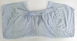 Kohls Womens Size Small Gray Cropped Pocketed Soft Sleep Pants NWOT Soft... - $7.69