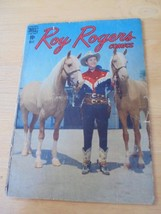 Roy Rogers 5 1948 Dell Comic Book Vg Condition Gold Age Nice Color Western Comic - $13.49