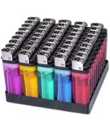 Wholesale Disposable Lighters - Pack of 50 with Stand - $10.90