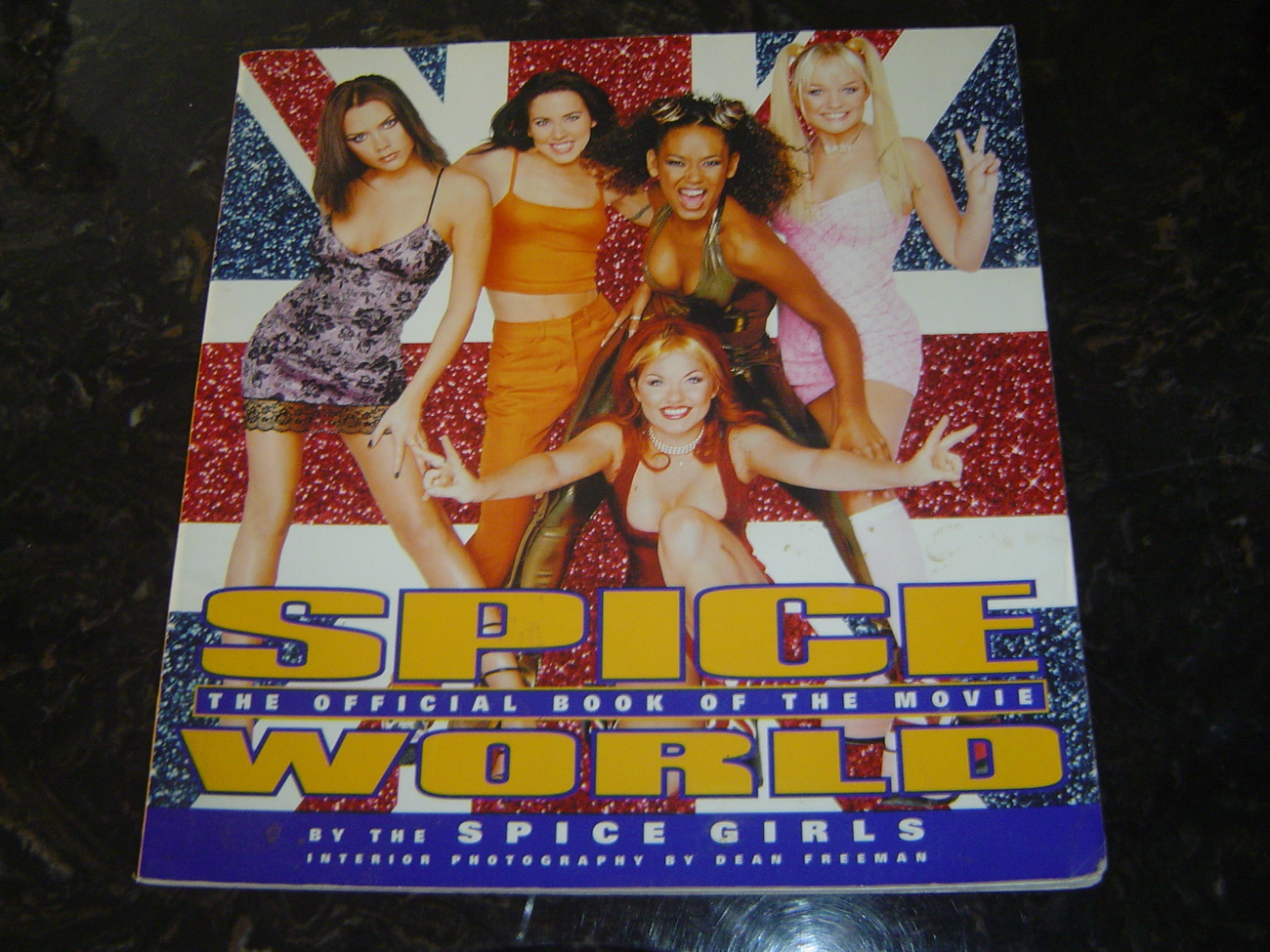 Spice Girls Spice World Movie Book Official 1998