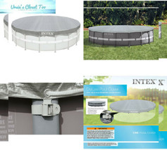 Intex Deluxe 18-Foot Round Pool Cover 18 ft - $51.72