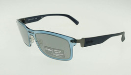 ZERORH+ ZETHA Matte Blue / Gray Mirror Sunglasses RH772-02 ZEISS - $107.31