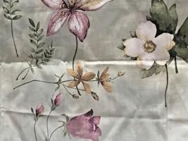 SPRING Floral DOGWOOD Watercolor Pattern Pair DAN RIVER  Pillow SHAMS  - $18.49
