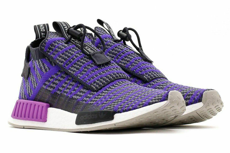 Adidas Originals NMD TS1 PK Primeknit Carbon Blue Boost BB9177 Mens Size 9.5