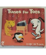 Tunes for Tots 3 CDs / 36 Tracks Childrens Songs (CD, 1999, K-Tel) - $14.90